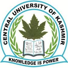 central uni of kashmir